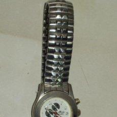 Relojes: RELOJ DE MUJER DEPORTIVO,CORREA DE ACERO.. Lote 46615517
