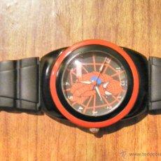 Relojes: RELOJ COLECCION SPIDERMAN LICENCIA MARVEL CAJA ACERO. Lote 46631843