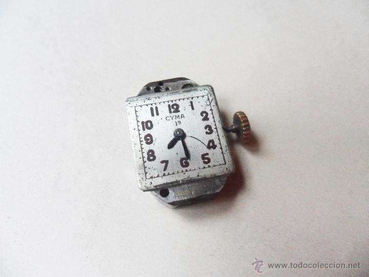 MAQUINARIA DE UN RELOJ CYMA DE SEÑORITA - CUERDA ROTA (Relojes - Relojes Actuales - Otros)