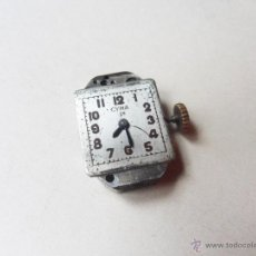 Relojes: MAQUINARIA DE UN RELOJ CYMA DE SEÑORITA - CUERDA ROTA. Lote 46772400