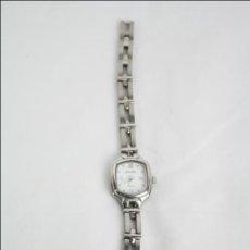 Relojes: RELOJ DE PULSERA FEMENINO DUWARD - CUARZO - TONALIDAD PLATEADA, ACERO INOXIDABLE - CAJA 22 X 20 MM. Lote 47089910