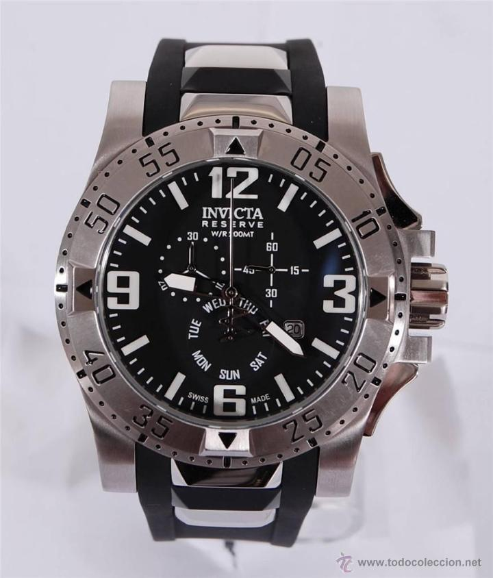 Relojes: Invicta Reserve Excursion Men's Chronograph Watch Swiss Made - Foto 6 - 54464363