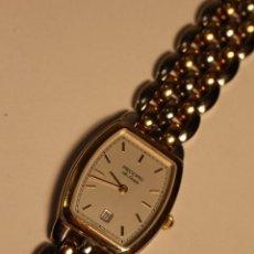 Relojes: RELOJ DE PULSERA VINTAGE RECORD DE LUXE CALENDARIO SWISS MADE 51318 SEÑORA FUNCIONANDO. Lote 47194324