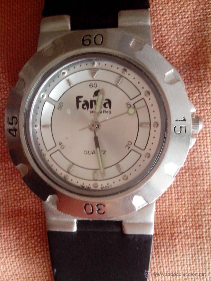 RELOJ PUBLICIDAD FANTA (Relojes - Relojes Actuales - Otros)
