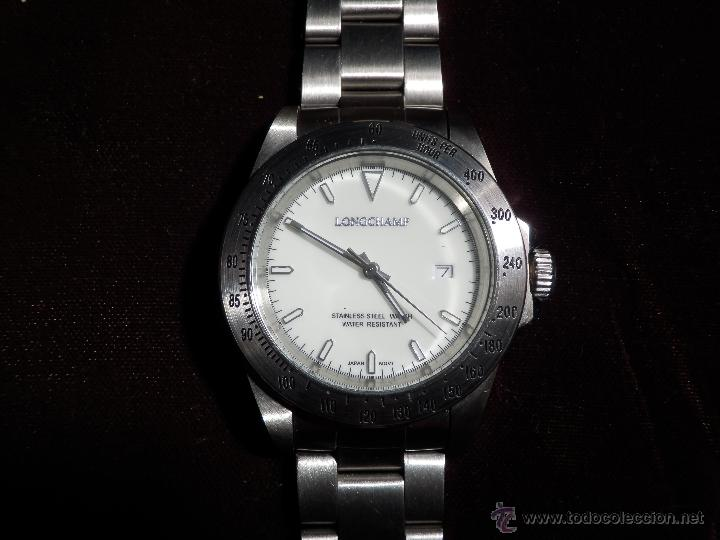 LONGCHAMP RELOJ DE CABALLERO (CUARZO) RF1- (Relojes - Relojes Actuales - Otros)
