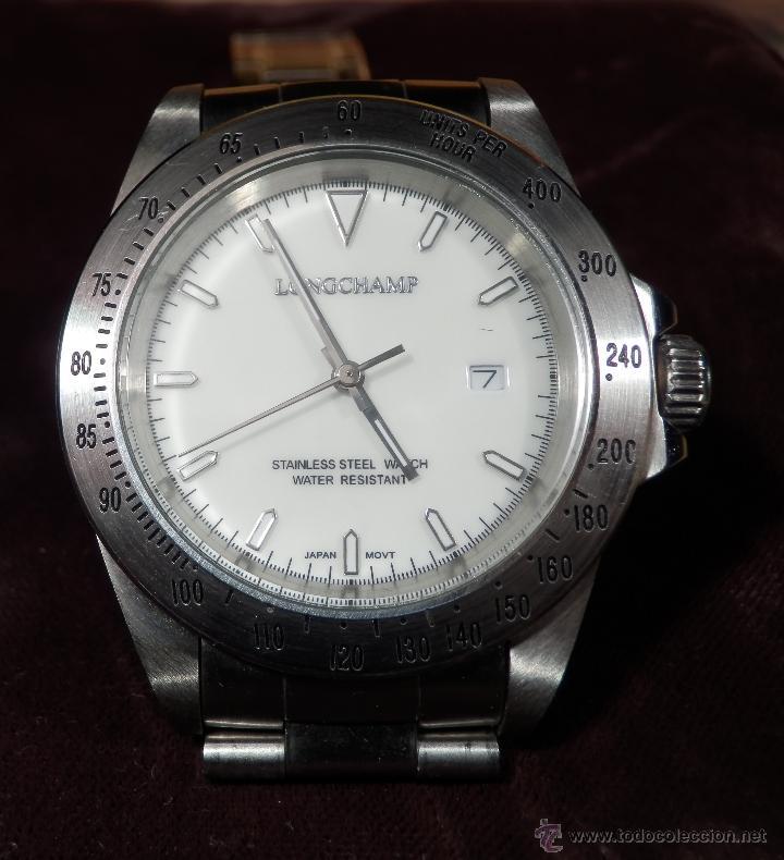 Relojes: LONGCHAMP RELOJ DE CABALLERO (CUARZO) rf1- - Foto 6 - 47707721