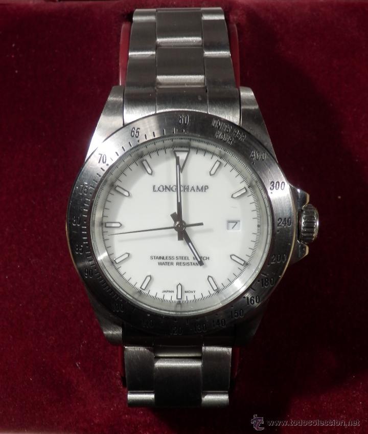 Relojes: LONGCHAMP RELOJ DE CABALLERO (CUARZO) rf1- - Foto 7 - 47707721