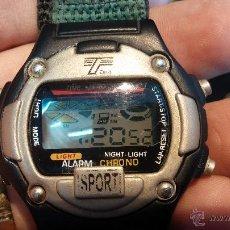 Relojes: MUY BONITO RELOJ VINTAGE A PILAS, DE LOS PRIMEROS, MUY CURIOSO.... Lote 47878306