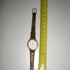 Relojes: PEQUEÑISIMO RELOJ DE SEÑORA DUWARD POSIBLE ESFERA CHAPADA O BAÑADA EN ORO CORREAS DE PIEL LEGITIMA. Lote 47936652