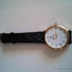 Relojes: RELOJ PULSERA - SAMSA -QUARTZ WATER RESISTANT - 18 K GOLD PLATED. Lote 122823986