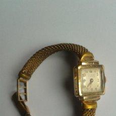 Relojes: RELOJ CHAPADO ORO MARCA TITAN ANTIGUO 20 MICRONS. Lote 48434608