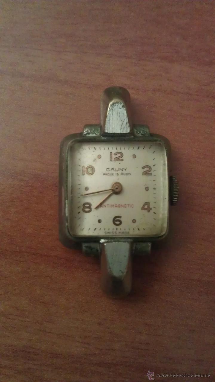 ANTIGUO RELOJ CAUNY (Relojes - Relojes Actuales - Otros)