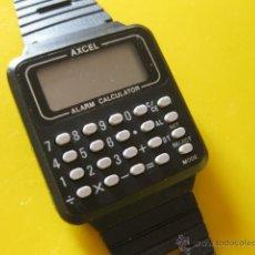 Relojes: RELOJ DE PULSERA CON CALCULADORA MARCA AXCEL. Lote 48833208
