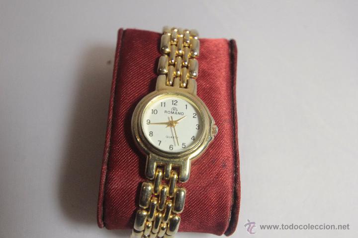 RELOJ DE PULSERA DE SEÑORA, MARCA ROMANO -REF3500- (Relojes - Relojes Actuales - Otros)