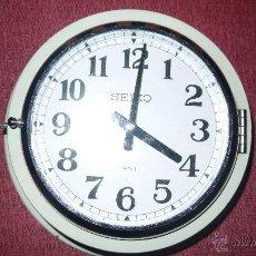 Relojes: RELOJ DE BARCO JAPONES SEIKO, AÑOS 50 TRANSISTORIZADO, FUNCIONA PERFECTAMENTE. Lote 49046640