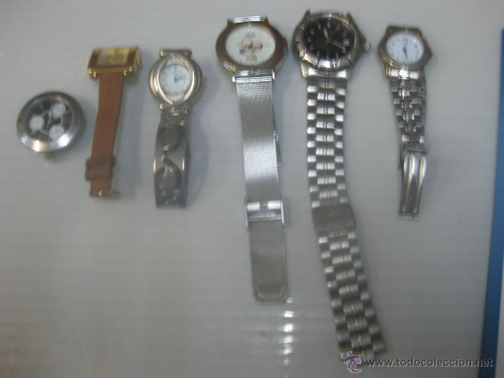 Relojes: Lote seis relojes - Foto 2 - 49121032