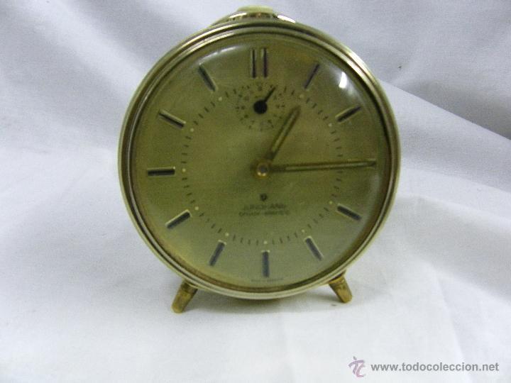 Relojes: RELOJ DESPERTADOR JUNGHANS-TRIVOX SILENTIC - Foto 4 - 49276100