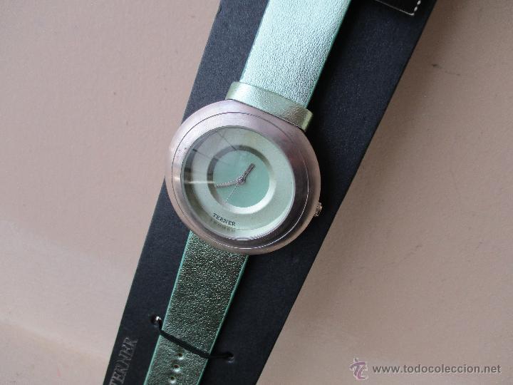 Relojes: PRECIOSO RELOJ DE MUJER MARCA TERNER QUARZ MOVIMIENTO JAPONES NUEVO - Foto 2 - 49307577