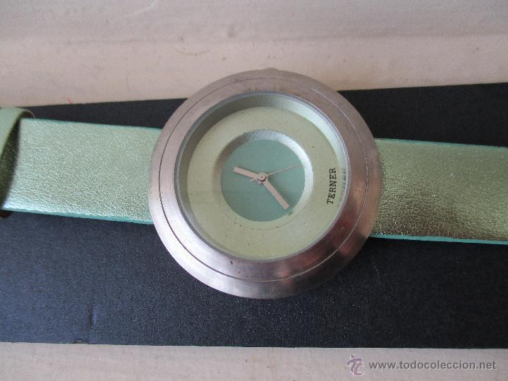 Relojes: PRECIOSO RELOJ DE MUJER MARCA TERNER QUARZ MOVIMIENTO JAPONES NUEVO - Foto 6 - 49307577