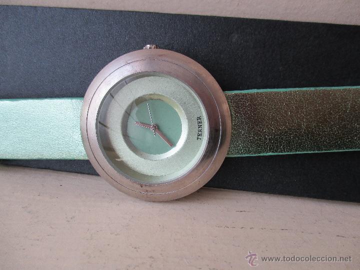 Relojes: PRECIOSO RELOJ DE MUJER MARCA TERNER QUARZ MOVIMIENTO JAPONES NUEVO - Foto 12 - 49307577