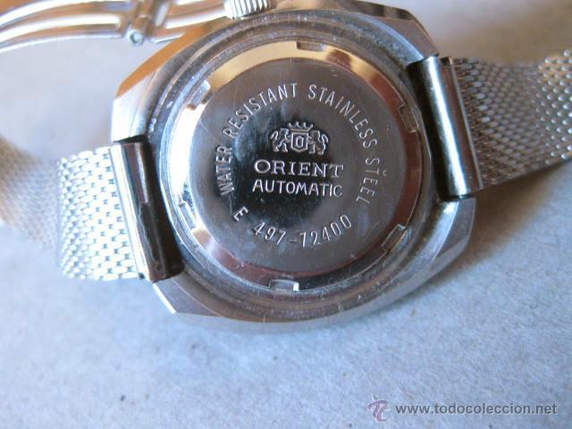 Relojes: RELOJ DE PULSERA AUTOMATICO DE CALENDARIO PARA SEÑORITA MARCA ORIENT - FUNCIONANDO - Foto 3 - 49435380