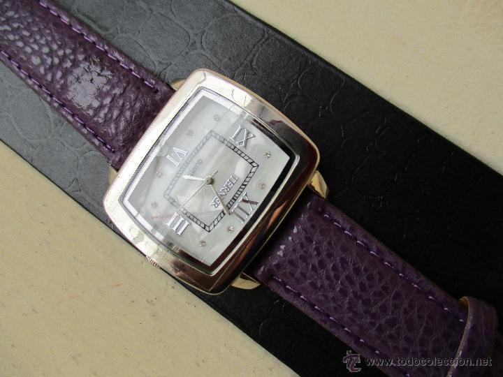 Relojes: RELOJ TERNER YH-79 G ESFERA NACARADA NUEVO QUARTZ FUNCIONA - Foto 5 - 49451871