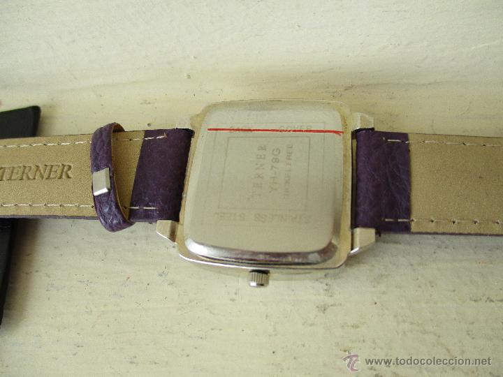 Relojes: RELOJ TERNER YH-79 G ESFERA NACARADA NUEVO QUARTZ FUNCIONA - Foto 6 - 49451871