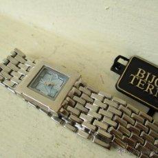 Relojes: PPRECIOSO RELOJ DE MUJER TERNER QUARTZ CORREA ACERO NUEVO. Lote 49477978