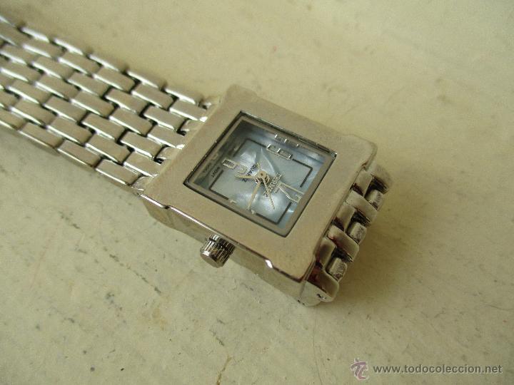 Relojes: PPRECIOSO RELOJ DE MUJER TERNER QUARTZ CORREA ACERO NUEVO - Foto 2 - 49477978