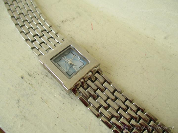 Relojes: PPRECIOSO RELOJ DE MUJER TERNER QUARTZ CORREA ACERO NUEVO - Foto 3 - 49477978