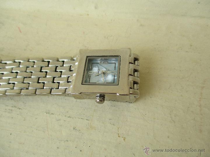 Relojes: PPRECIOSO RELOJ DE MUJER TERNER QUARTZ CORREA ACERO NUEVO - Foto 8 - 49477978