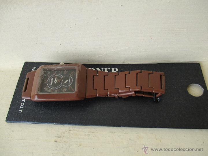 Relojes: RELOJ TERNER LH 886M QUARTZ CORREA METAL NUEVO - Foto 2 - 49478846