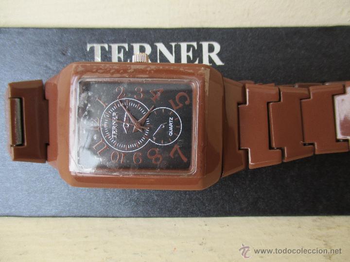 Relojes: RELOJ TERNER LH 886M QUARTZ CORREA METAL NUEVO - Foto 6 - 49478846