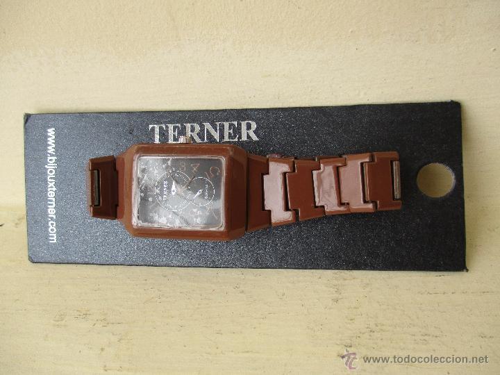 Relojes: RELOJ TERNER LH 886M QUARTZ CORREA METAL NUEVO - Foto 7 - 49478846