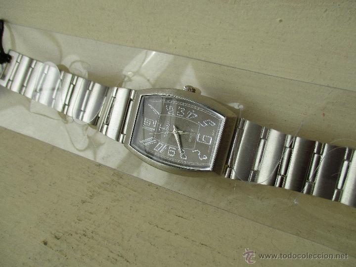 Relojes: RELOJ TERNER K 17147G MOV JAPONÉS QUARTZ CORREA METAL NUEVO - Foto 8 - 49479465