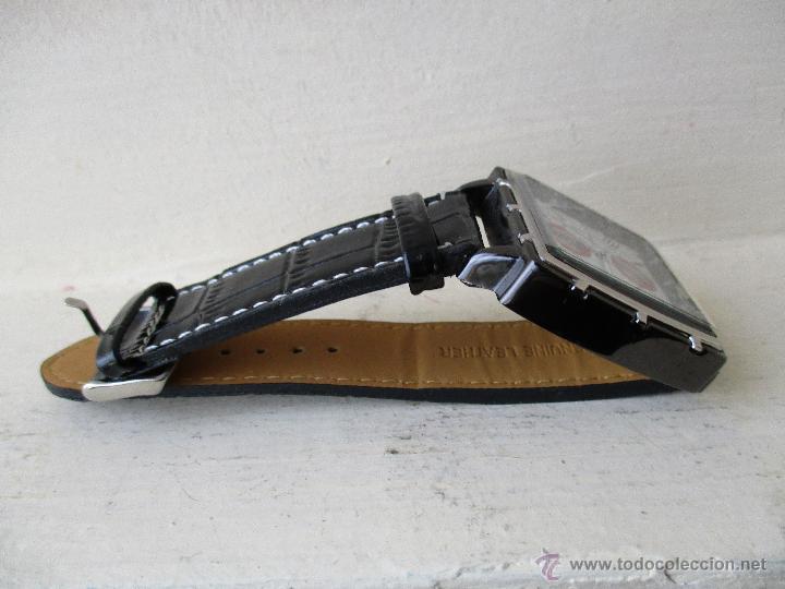 Relojes: RELOJ DE HOMBRE MONTRES CARLO 30902 QUARTZ MOV WATER RESISTANT NUEVO - Foto 2 - 49480664