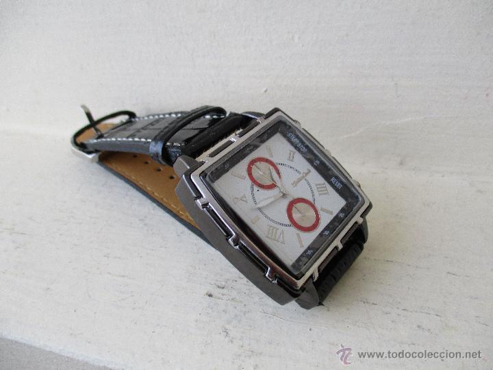 Relojes: RELOJ DE HOMBRE MONTRES CARLO 30902 QUARTZ MOV WATER RESISTANT NUEVO - Foto 4 - 49480664