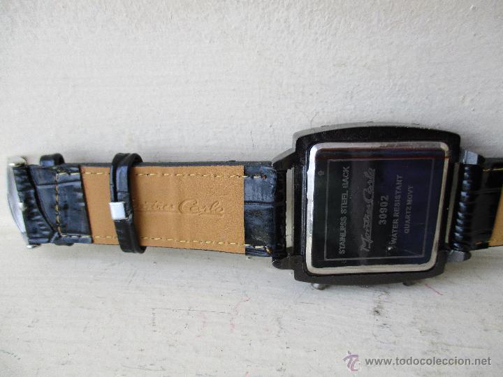 Relojes: RELOJ DE HOMBRE MONTRES CARLO 30902 QUARTZ MOV WATER RESISTANT NUEVO - Foto 6 - 49480664