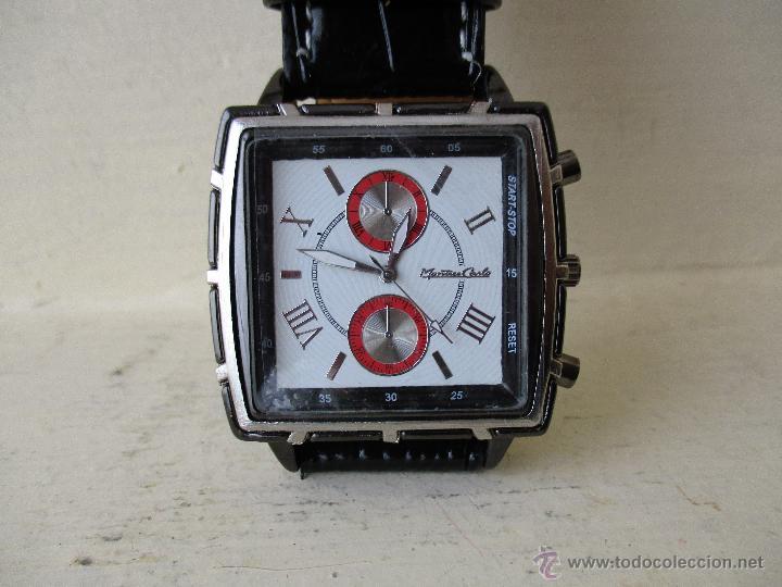 Relojes: RELOJ DE HOMBRE MONTRES CARLO 30902 QUARTZ MOV WATER RESISTANT NUEVO - Foto 9 - 49480664