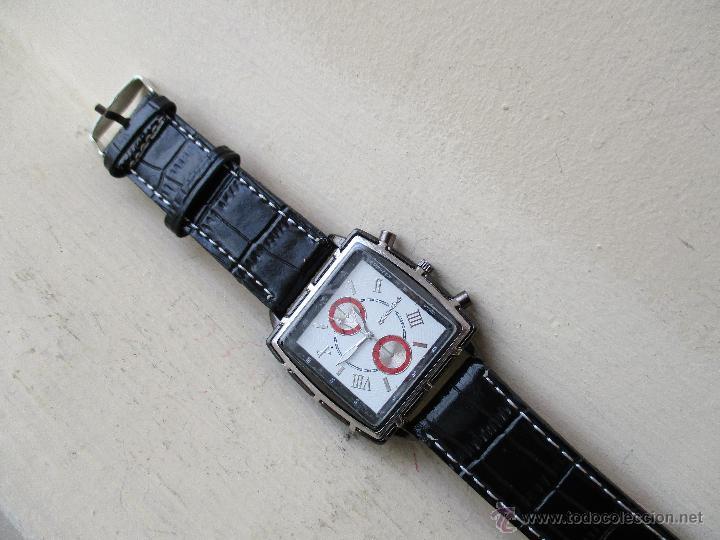 Relojes: RELOJ DE HOMBRE MONTRES CARLO 30902 QUARTZ MOV WATER RESISTANT NUEVO - Foto 11 - 49480664
