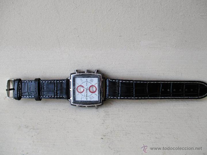 Relojes: RELOJ DE HOMBRE MONTRES CARLO 30902 QUARTZ MOV WATER RESISTANT NUEVO - Foto 12 - 49480664