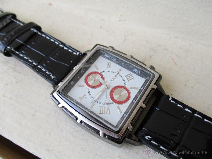Relojes: RELOJ DE HOMBRE MONTRES CARLO 30902 QUARTZ MOV WATER RESISTANT NUEVO - Foto 13 - 49480664