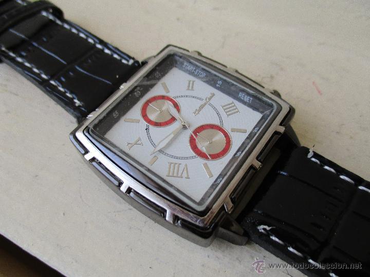 Relojes: RELOJ DE HOMBRE MONTRES CARLO 30902 QUARTZ MOV WATER RESISTANT NUEVO - Foto 14 - 49480664