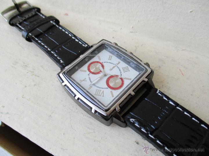 Relojes: RELOJ DE HOMBRE MONTRES CARLO 30902 QUARTZ MOV WATER RESISTANT NUEVO - Foto 15 - 49480664