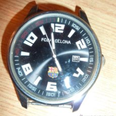 Relojes: RELOJ PULSERA FUTBOL CLUB BARCELONA . BARÇA . SATAINLESS STEEL QUARTZ .. Lote 49494774