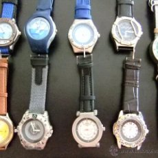 Relojes: BONITA COLECCION DE RELOJES MODERNOS DE PULSERA COLECCION ALTAYA. Lote 49824604
