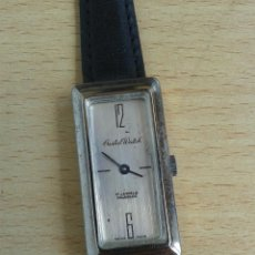 Relojes: ANTIGUO RELOJ CRISTAL WATH 17 JEWELS INCABLOC SUIZO FUNCIONA. Lote 49872839