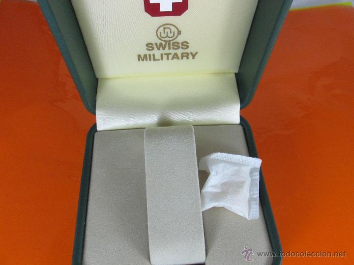Relojes: caja para reloj-suiza-swiss military-nueva-ver fotos. - Foto 2 - 49996180