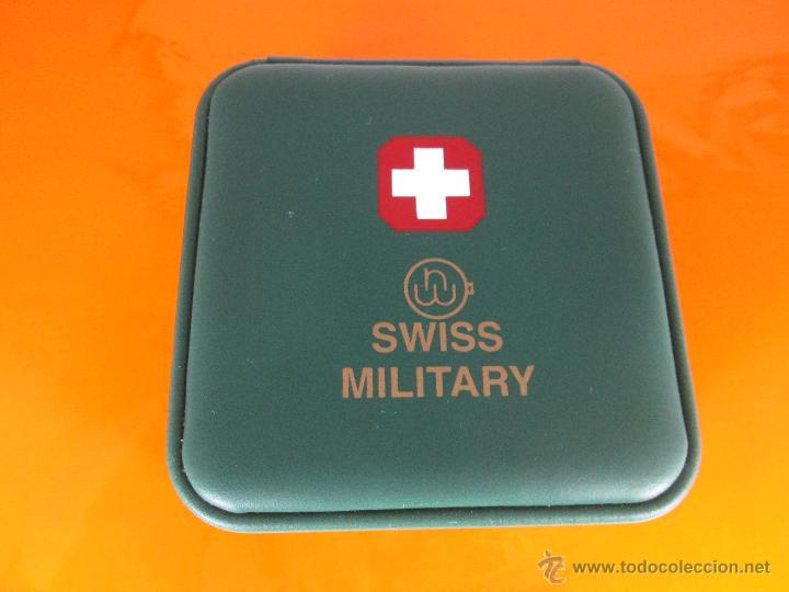 Relojes: caja para reloj-suiza-swiss military-nueva-ver fotos. - Foto 5 - 49996180
