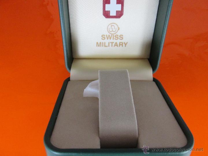 Relojes: caja para reloj-suiza-swiss military-nueva-ver fotos. - Foto 6 - 49996180